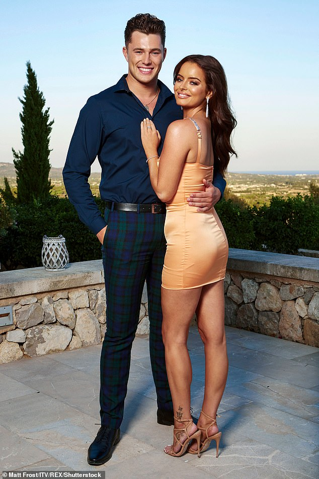 Former Flame: The exes got together on last year's Love Island series but ended their romance in March and Maura recently revealed that she feels ready to start dating again
