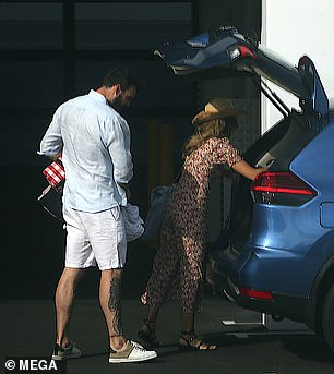 Where to go next The couple in love packed their belongings in a car as they left Quest Apartments in Ascot to begin their new life together in WA