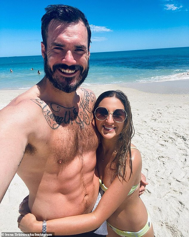 She is thrilled: Irena quit her job, left her family and packed her whole life to be with her boyfriend in Western Australia