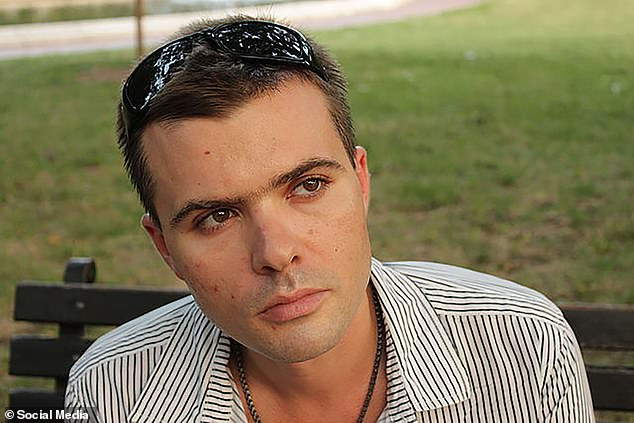 However, she did admit to knowing her former school friend Igor Danchenko, 42, (pictured) who the WSJ claimed had recruited her into intelligence gathering for the former MI6 spy. 'We studied at the same school, but the thing is that after that he went to work and study in America,' she said