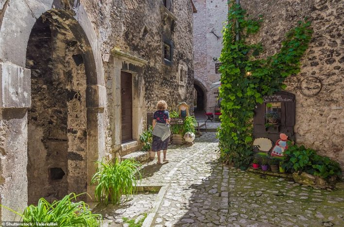 The small and charming medieval stone village, in Gran Sasso National Park, Abruzzo region,has listed some key skills that it's hoping to attract, including tourist guides, cleaners, pharmacists and those who can promote local food products