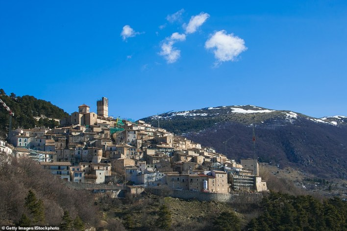 Santo Stefano di Sessanio, the medieval village in the Abruzzo mountains,is offering to pay potential residents up to £40,000 to move there in an attempt to reboot the economy