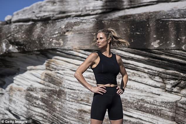 Strong: Speaking to The Daily Telegraph's Home Magazine on Saturday, 35-year-old Candice Warner (pictured) revealed the tough lessons she learned onSAS Australia