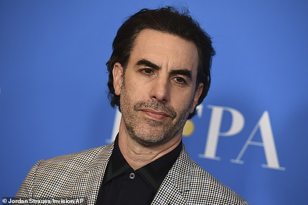 Similarities? Sacha Baron Cohen (pictured) believes that his Borat character has a lot in common with U.S. President Donald Trump