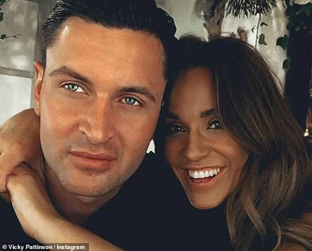 Heartache:Vicky has previously been unlucky-in-love as she endured a public split from her ex fiancé John Noble in 2018 after footage emerged of him getting close to other women