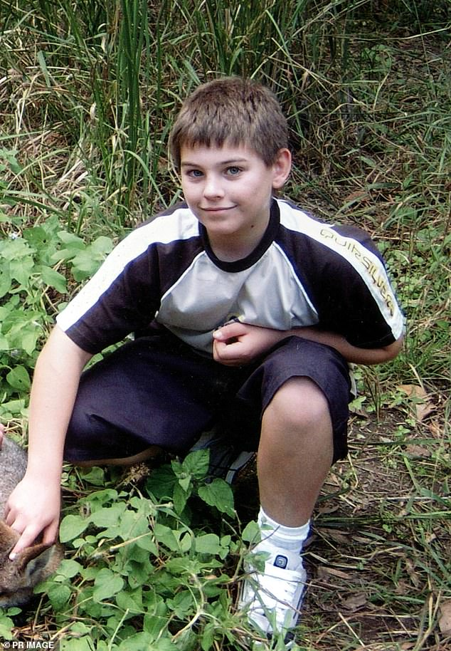 Daniel Morcombe (pictured) was 13 when he was abducted from a bus stop and choked to death in Queensland's Sunshine Coast in December, 2003
