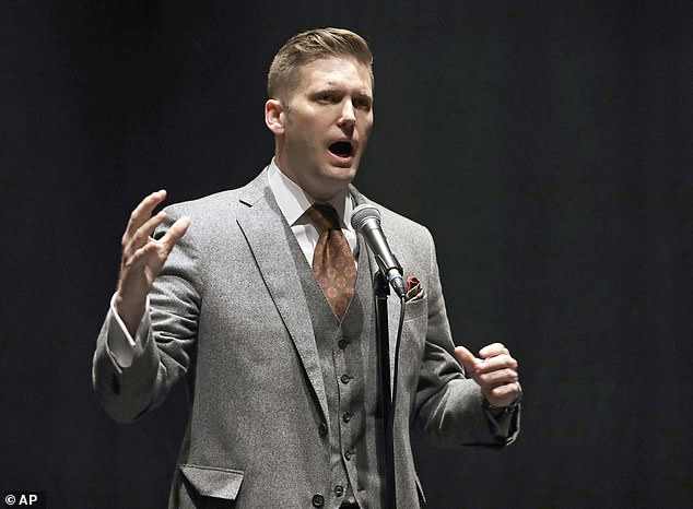 Whitefish, Montana, is the part-time home of white nationalist leader Richard Spencer (seen above in 2017)