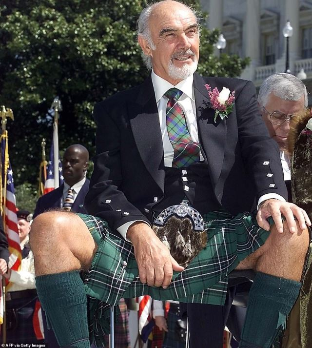 Sir Sean, once voted the 'greatest living Scot', received the American Film Institute's Lifetime Achievement Award in 2006, when he confirmed his retirement from acting