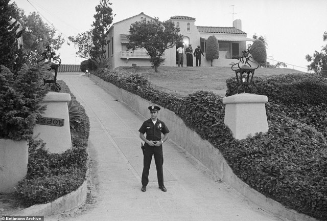 Previous owners of the home, located on Waverly Drive, were supermarket chain owner Leno LaBianca and his wife Rosemary, who were brutally murdered by followers of cult leader Charles Manson on August 10, 1969