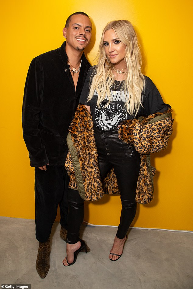 Oh man!  Ashlee Simpson and husband Evan Ross welcomed their second child together, a baby boy named Ziggy Blu Ross