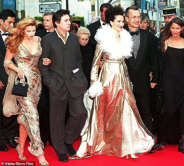 Gabriel Byrnes spiralled into drink and depression as he realised fame was not what it was hyped up to be. (Pictured Gabriel with Andie McDowell attending The 50th Annual Cannes Film Festival 1997, Cannes, France)
