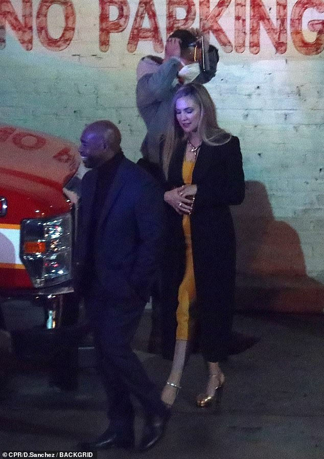 Night shoot:Kate Hudson was spotted on a night shoot in a parking lot late Friday in Los angeles, working on season two of the Apple TV+ crime show Truth Be Told