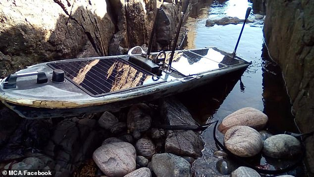 It comes after an unmanned 'spy boat' powered by solar energy and designed to avoid detection was found off the coast of Scotland last month