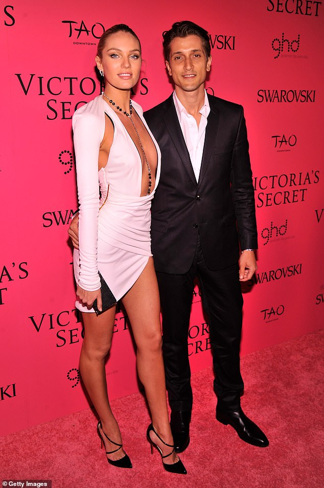 Mom and dad: Ariel and Anaca's father is 38-year-old Brazilian model Hermann Nicoli, who Candice split from in November 2018 after 13 years together. They're seen in 2013 above