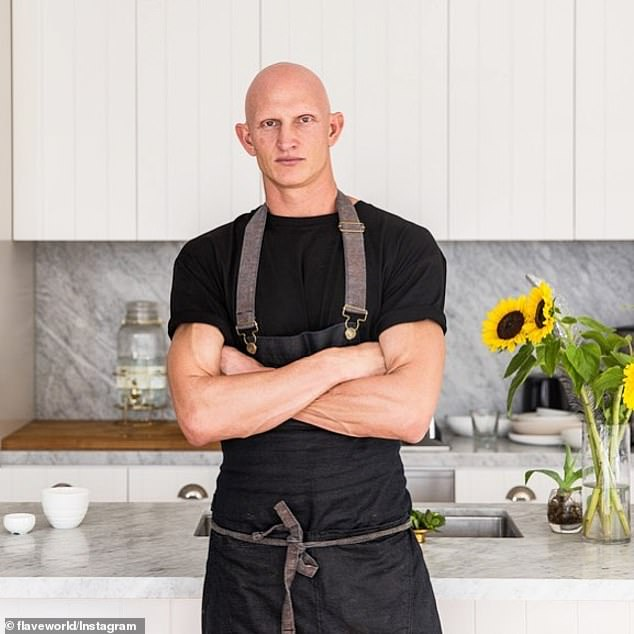 They have been developed and cooked by celebrity chef Scott Findlay (pictured), who was taught under the watchful guise of Gordon Ramsay and was Sir Paul McCartney's personal cook for seven years