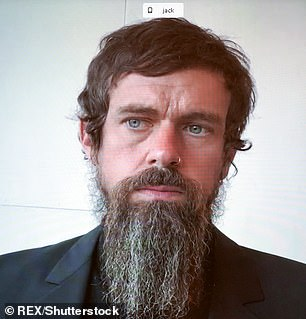 Twitter boss Jack Dorsey (pictured) Twitter was criticised after the site prevented users from sharing a link to a front-page newspaper article about Hunter Biden's private life and his controversial business ties to Ukraine