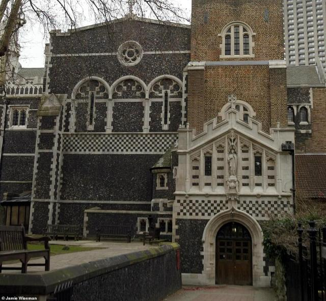 Churches will remain open for private prayer. Funerals are limited to close family members only. It is currently unclear what the rules are for weddings. Pictured: St Bartholomew The Great church in Smithfield, London