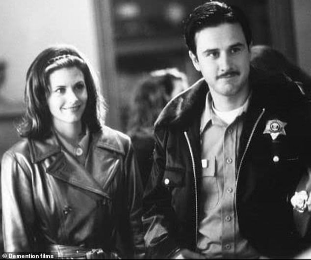 The way they were:In fact this new movie will reunite her with her smoldering ex-husband David Arquette with whom she is pictured in the first film