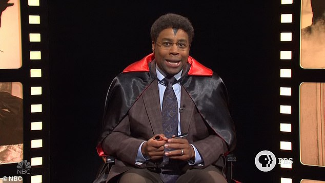 Classics:Kenan Thompson kicked off the first sketch after the monologue as Reese De¿What, dressed as a vampire, hosting Cinema Classics, a fake PBS program