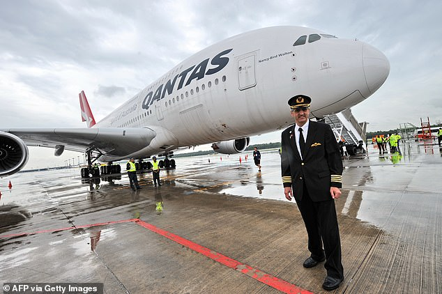 Qantas pilot Richard de Crespigny (pictured) has written two book about the near-disaster