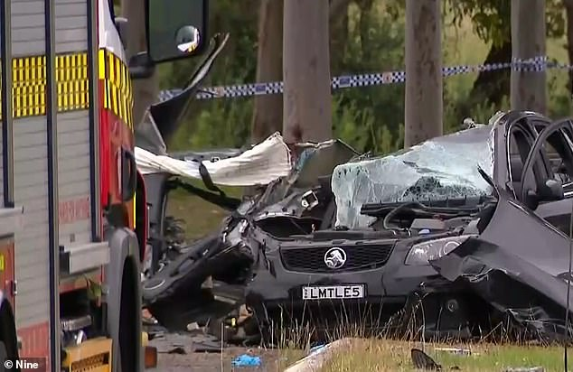 Two teenagers have died and another is in hospital after a horrific car crash in western Sydney