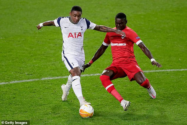 Steven Bergwijn was another who didn't impress and was addicted at recess