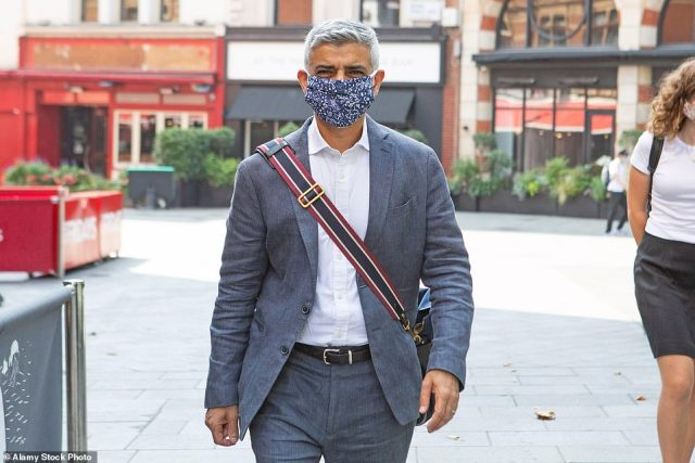 London Mayor Sadiq Khan tweeted that he was 'furious' that the Government had 'dithered and delayed yet again'