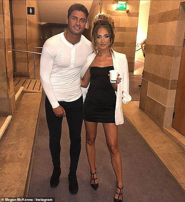 Devastated: Megan was heartbroken when she discovered her ex Mike Thalassitis - who she dated in 2018 - committed suicide in 2019 and she entered therapy to cope with the shock