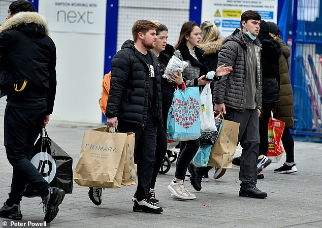 The previous lockdown costing non-essential shops £1.6 billion a week in lost sales, and losses expected to be much larger over the Christmas period