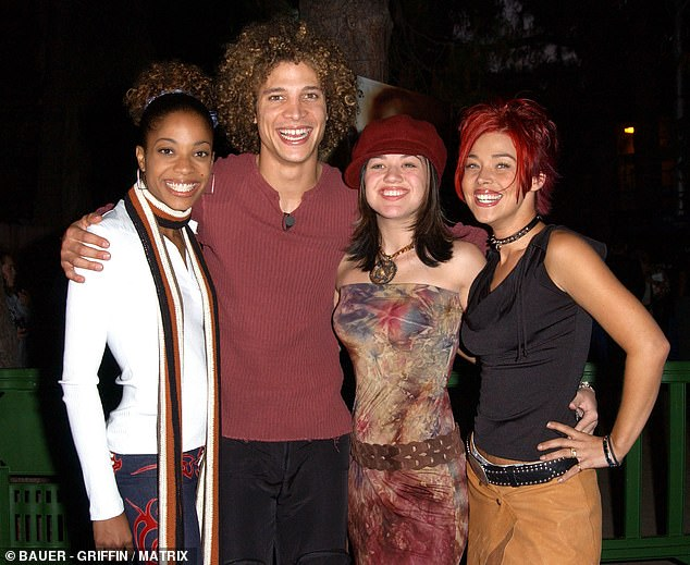 Stars: Justin Guarini, who placed second, confirmed the news of McKibbin's death with a heartfelt Instagram post shared on Saturday; seen in 2002