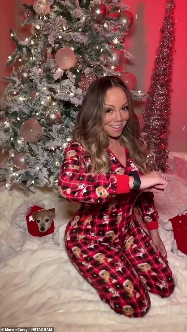 Yes! Mariah Carey took her Instagram followers on a spooky adventure to reveal 'it's time' to put the Halloween decorations away and get ready for the holidays