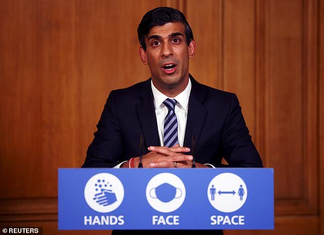 Rishi Sunak announced the extension of his furlough scheme on twitter, but received a biting remark from Greater Manchester mayor Andy Burnham