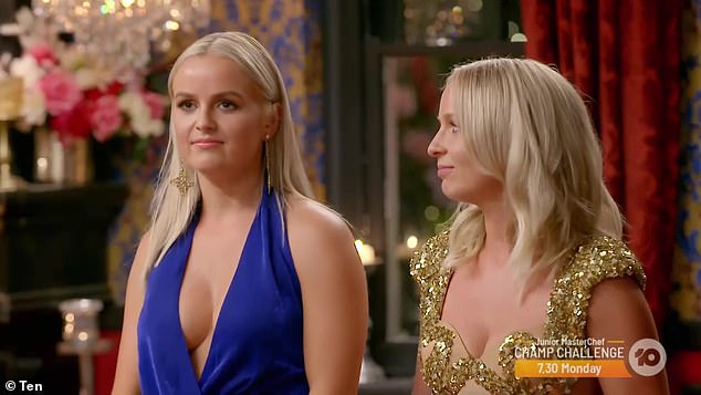 Tune in: The Bachelorette continues on Wednesday on Channel Ten at 7.30pm. Pictured: this year's Bachelorettes, Elly (left) and Becky Miles (right)