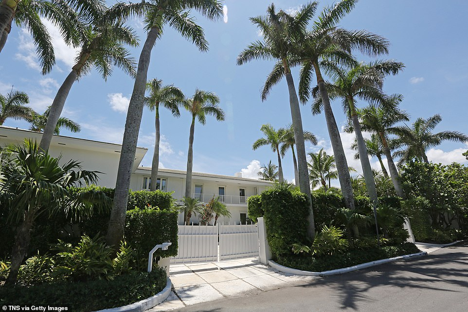 Jeffrey Epstein's Palm Beach mansion on El Brillo Way where he sexually abused young girls is set to be knocked down