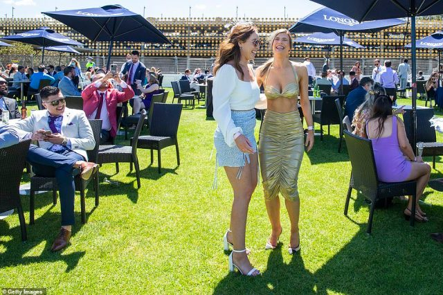 Sydneysiders donned their best racewear and formal attire to attendBentley Cup Day at Royal Randwick Racecourse