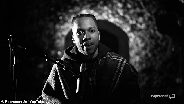 Wait For It: Leslie Odom Jr. has lent his incredible vocal talents to a public service announcement urging voters to be patient about the results of Tuesday's presidential election