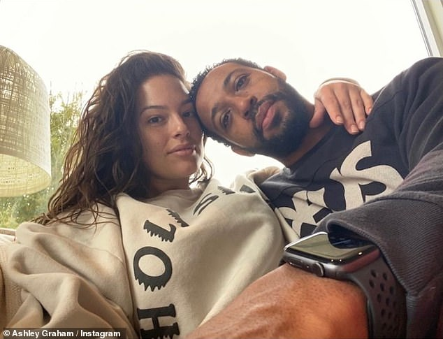 Love: The model and her husband celebrated their 10-year anniversary this past summer