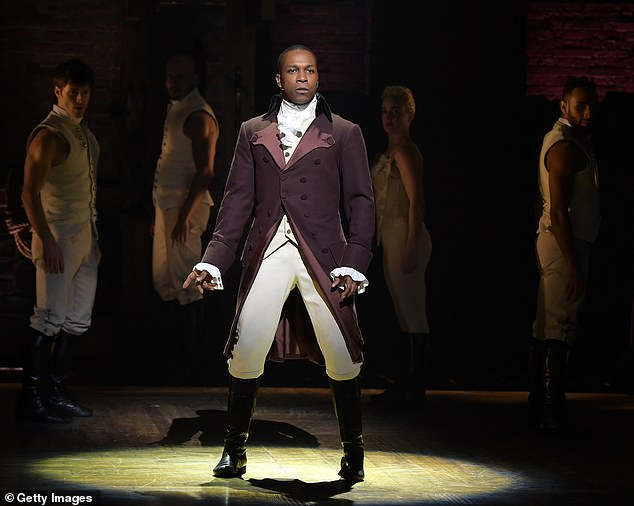 Breakout role: Odom, 39, starred on Broadway in the Lin-Manuel musical as Founding Father Aaron Burr