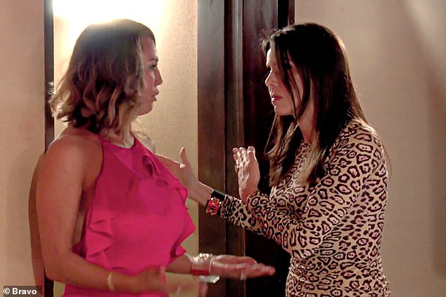 Flashback:Heather starred on the Real Housewives of Orange Country from 2012 to 2016. She memorably clashed with Kelly during season 11. (Pictured together)
