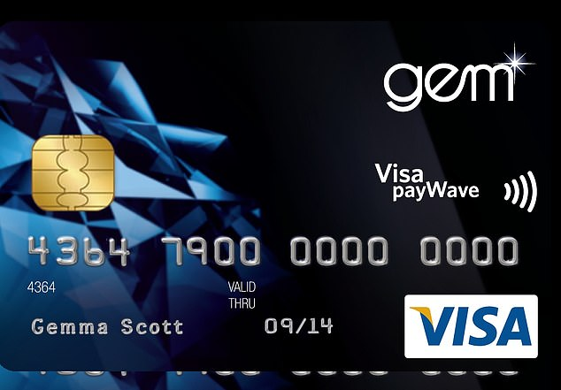 The Latitude Gem Visa card (pictured) charges a $99 annual fee
