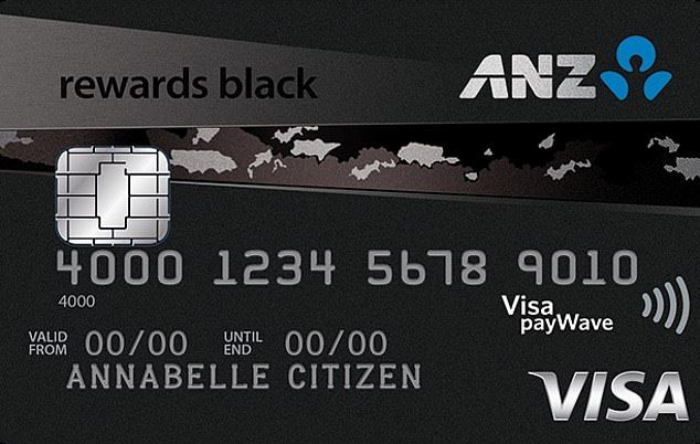 Rival ANZ's Rewards Black has a 20.25 per cent interest rate and a $375 annual