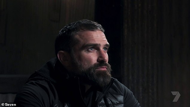 'I like you. You're driven, psychologically strong, physically strong, versatile, adaptable, you take on information well... Tonight, I was f**king gutted,' chief instructor Ant Middleton told her during the interrogation