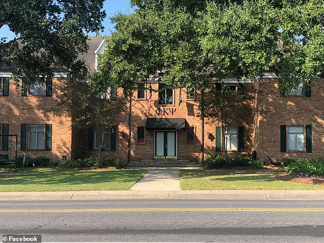 The Phi Kappa Psi fraternity (headquarters pictured above) has been suspended while campus police investigated the incident in which an unidentified student reportedly ended up on life support following a hazing