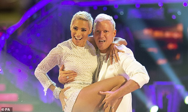 'We get on so well': Jamie is currently competing on Strictly Come Dancing where he is partnered with professional dancer Karen Hauer
