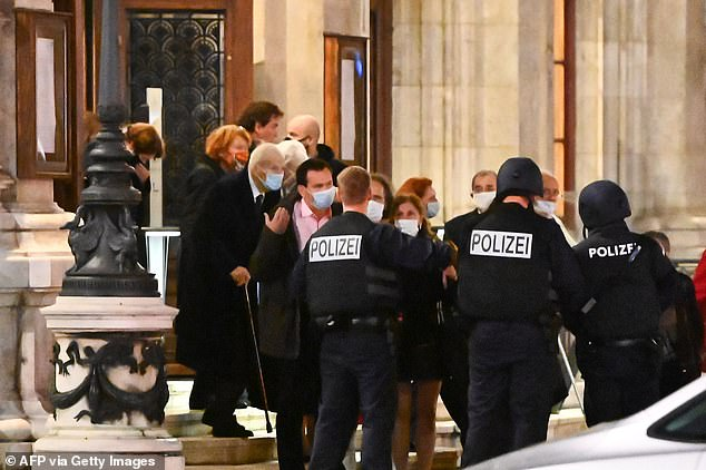 "Vienna police said in a Twitter post there had been ""six different shooting locations"" with ""one deceased person"" and ""several injured"", as well as ""one suspect shot and killed by police officers"""