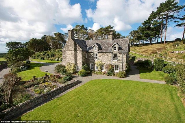 The estate, which is finally set to change hands after almost 800 years, includes the Grade II-listed grand house and 15 acres of stunning gardens and woodland. The property is on sale with estate agents Finest Properties for £2million