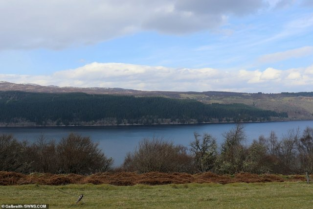The historic property also benefits from stunning view over the nearby Loch Ness