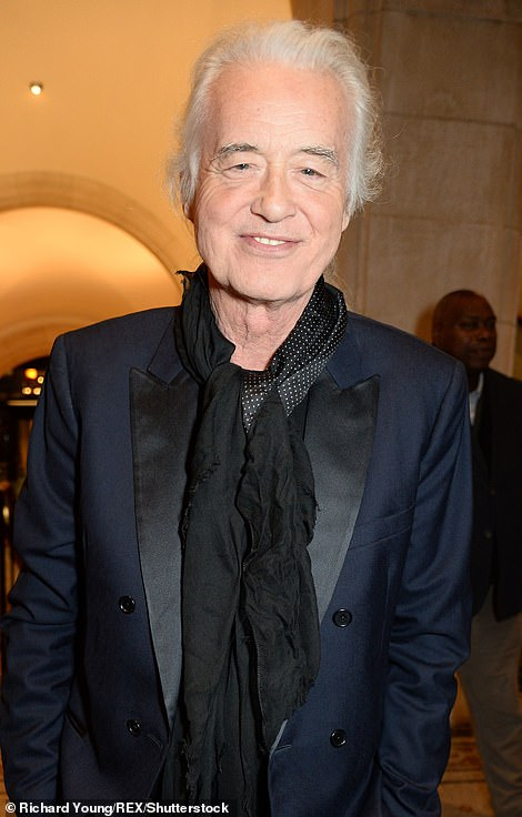Led Zeppelin guitarist Jimmy Page