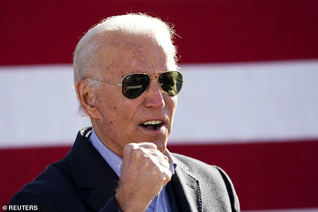 Here's hoping!Democratic rival Biden leads in national polls and in polling in several critical battleground states