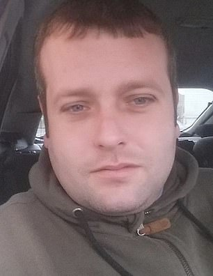 Israr Muhammed was competing against Adam Malloy (pictured) on the M62, which led to the death of Say Han Mohammed Ali